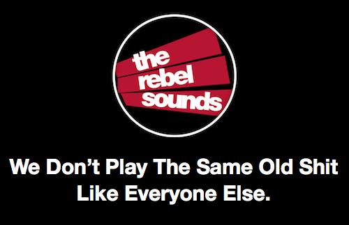 The Rebel Sounds HEADER title